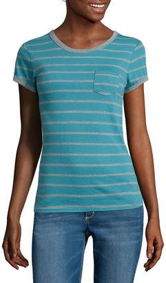 ARIZONA Arizona Short-Sleeve Striped Ringer Tee $6.99 thestylecure.com