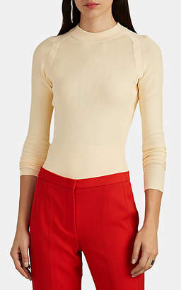 Narciso Rodriguez Women's Compact-Knit Sweater - Cream
