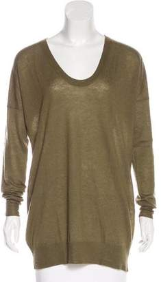 Joseph Cashmere Long Sleeve Sweater