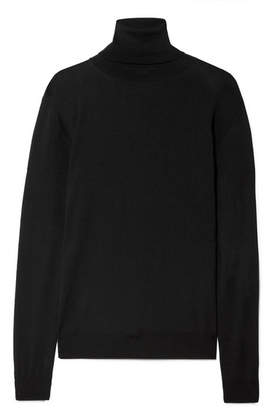 Stella McCartney Wool Turtleneck Sweater - Black