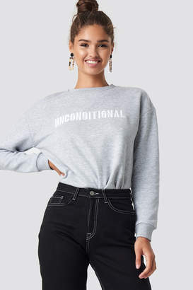 MANGO Paks Sweatshirt Grey
