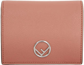 Fendi Pink F is Bifold Wallet