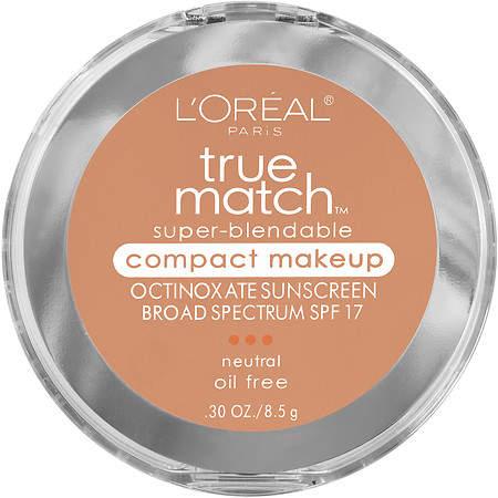 L'Oreal Paris True Match Super-Blendable Compact Makeup, SPF 17