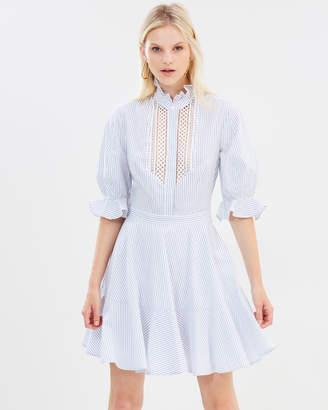 Lover Abbey Trim Dress