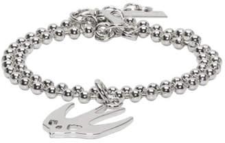 McQ Silver Swallow Bracelet