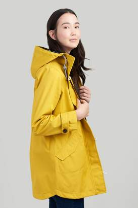Joules Womens Coast Mid Waterproof Jacket - Gold