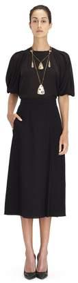 Lanvin High-Waisted Pleated Skirt
