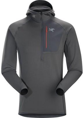 Arc'teryx Konseal Hooded Fleece Pullover - 1/2-Zip - Men's