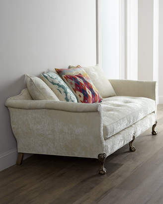 """Old Hickory Tannery Ginger Fiesta Sofa 88"""""""