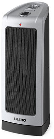 Lasko Mechanical Thermostat-Controlled Ceramic Tower Heater