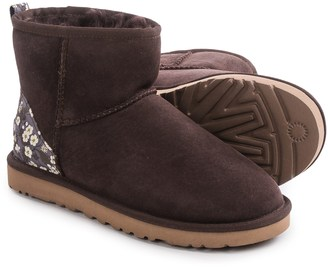 UGG® Australia Classic Mini Liberty Boots - Suede (For Women) $89.99 thestylecure.com