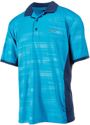 Greg Norman for Tasso Elba Men's Colorblocked Striped Performance Polo, Only at Macy's $55 thestylecure.com