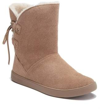 Koolaburra BY UGG Shazi Genuine Shearling & Faux Fur Lined Short Boot