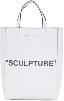 Off-White White Medium Sculpture Tote