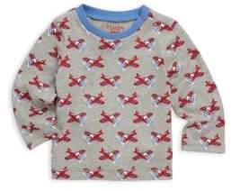 Hatley Baby Boy's Airplane Long-Sleeve Top