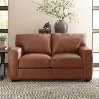 Birch Lane Pratt Leather Loveseat