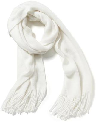 Solid Fringe Scarf for Women $16.94 thestylecure.com