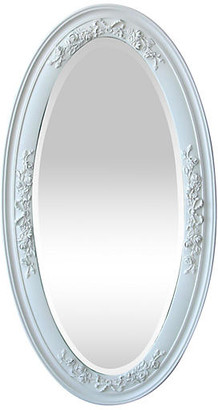 One Kings Lane Vintage Victorian Oval Beveled Mirror - Fleur de Lex Antiques