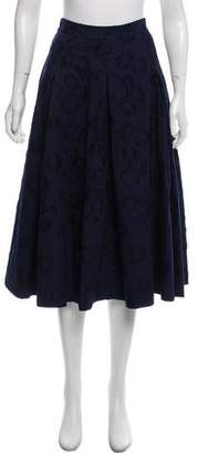 Co Floral Midi Skirt w/ Tags