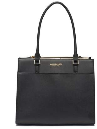 Andrew Marc Albany Saffiano Leather Zipper Tote