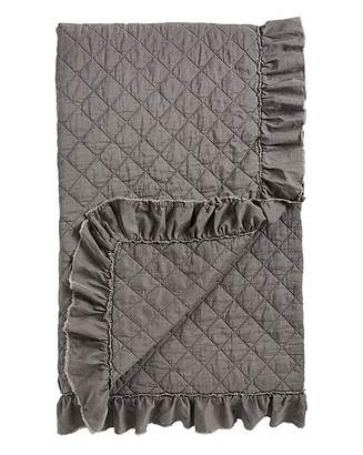 Fashion World Ruffle Stone Wash Throw 150 x 200cm