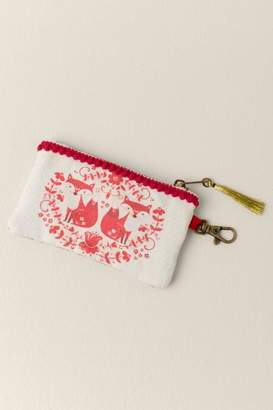francesca's Fox Natural Life Pouch Gift Box - Cream