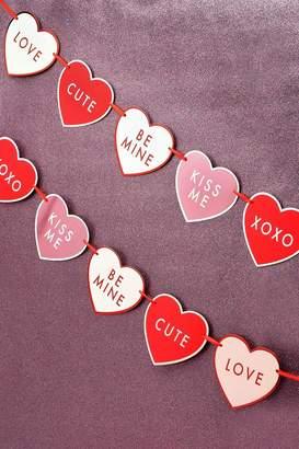 boohoo Valentine Love Heart Bunting