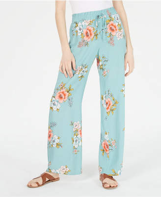 BeBop Juniors' Printed Soft Palazzo Pants