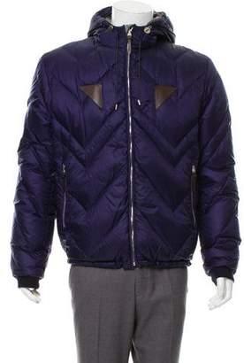 Louis Vuitton Cashmere Lined Puffer Coat