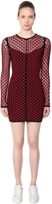Rag & Bone Net Viscose Short Dress