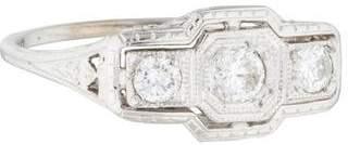 Ring 18K Diamond Filigree