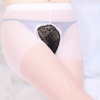 Keep NEW Sexy Lingerie Womens Sheer Open Crotch Crotchless Stockings Pantyhose