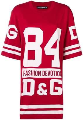 Dolce & Gabbana oversized basketball T-shirt