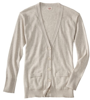 Mossimo Juniors Long Sleeve Cardigan - Assorted Colors
