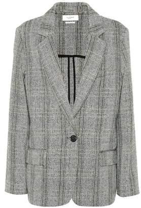 Etoile Isabel Marant Isabel Marant, Étoile Charly checked wool blazer