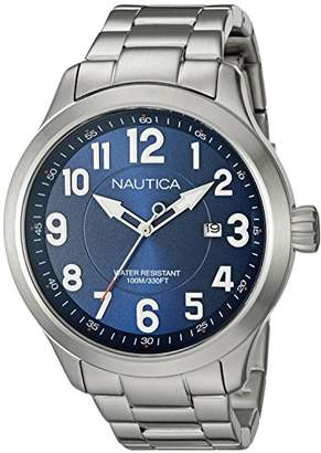 Nautica Men's NAD12524G NCC 01 Date Analog Display Analog Quartz Watch