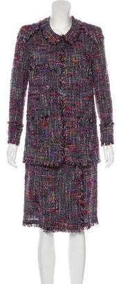 Chanel Tweed Skirt Set