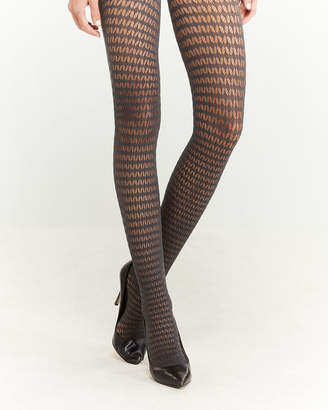 a38e93e79 Wolford Patterned Mesh Tights