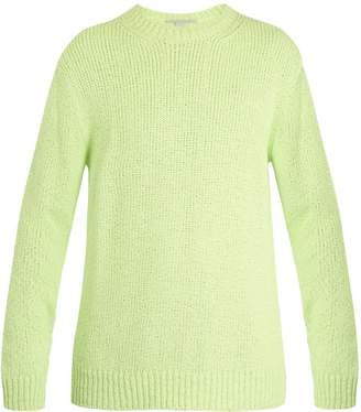 Stella McCartney Crew-neck dropped-shoulder sweater