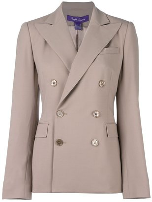 Ralph Lauren double breasted blazer $2,184 thestylecure.com