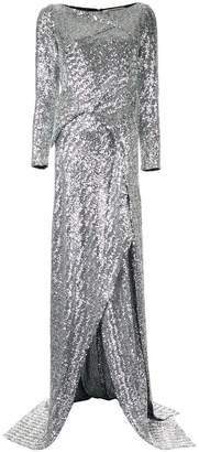 Roland Mouret long-sleeve flared dress