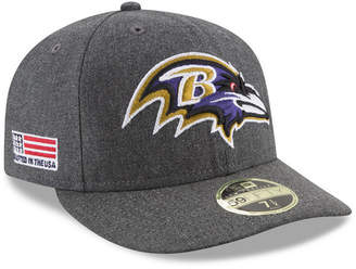 New Era Baltimore Ravens Crafted In America Low Profile 59FIFTY Fitted Cap