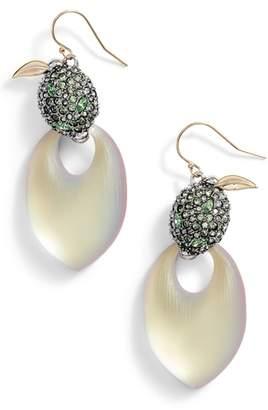 Alexis Bittar Lime Lucite(R) Earrings