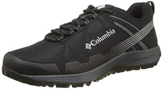 Sorel Columbia Men's Multisport Shoes, CONSPIRACY V, Black (Black/ White), Size: 7.5