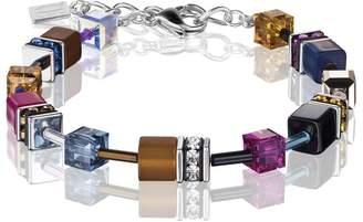 Coeur de Lion Geo Cube Rising Sun Multicoloured Bracelet 2838/30-1567