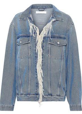 IRO Motivation Frayed Denim Jacket