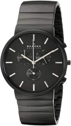 Skagen Men's SKW6110 Ancher Quartz/Chronograph Stainless Steel Watch