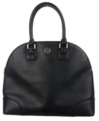 Tory Burch Robinson Dome Bag - BLACK - STYLE