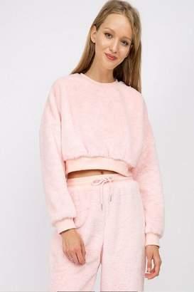 Signature 8 Fur Crop Pullover