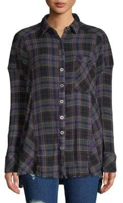 Free People Juniper Ridge Button-Down Shirt